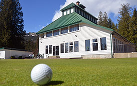 Revelstoke boutique hotel The Cube offers special seasonal golf packages.